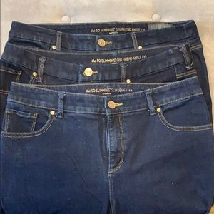"""Chico's """"So Slimming"""" jeans in 1 and 1.5"""